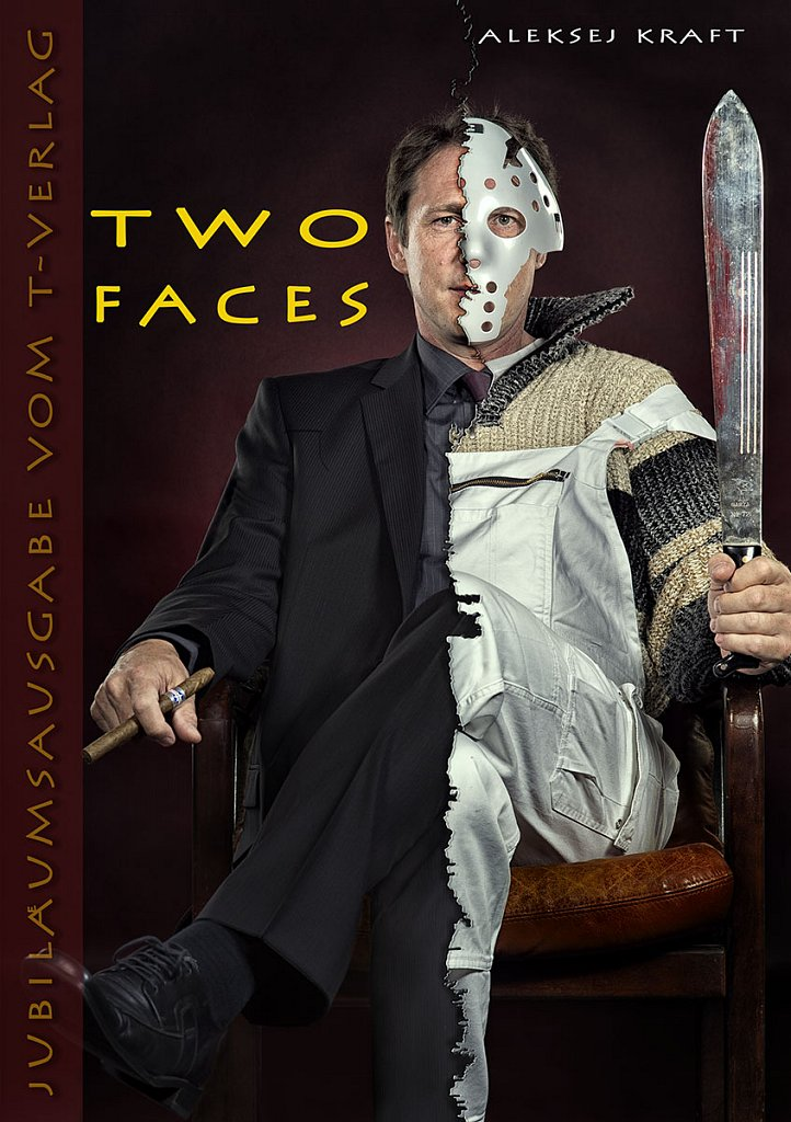 """Buchcover """"Two Faces"""""""